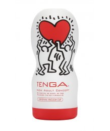 Мастурбатор Tenga&Keith Haring Deep Throat