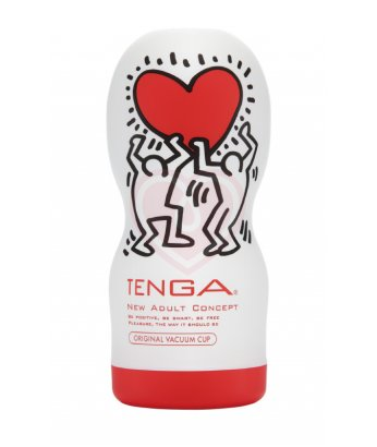Мастурбатор Tenga&Keith Haring Deep Throat