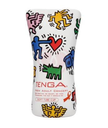 Мастурбатор Tenga&Keith Haring Soft Tube