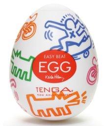 Мастурбатор яйцо Tenga&Keith Haring Egg Street
