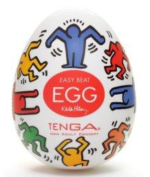 Мастурбатор яйцо Tenga&Keith Haring Egg Dance