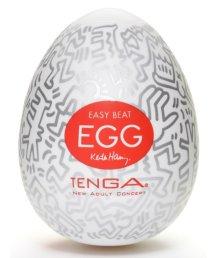 Мастурбатор яйцо Tenga&Keith Haring Egg Party