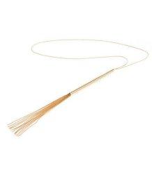Ожерелье-плеть Bijoux Indiscrets Magnifique золотистое
