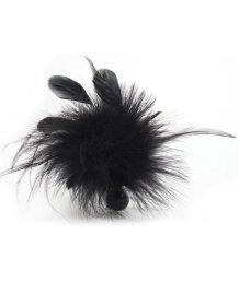 Перышко для ласк Bijoux Indiscrets Pom Pom черное