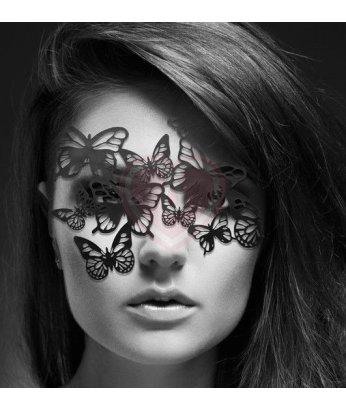 Ажурная маска Bijoux Indiscrets Sybille черная