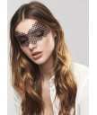 Ажурная маска Bijoux Indiscrets Erika черная