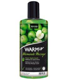 Съедобное разогревающее масло WarmUp Зеленое Яблоко 150мл + маска в подарок