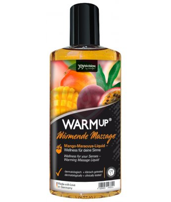 Съедобное разогревающее масло WarmUp Манго и Маракуйя 150мл