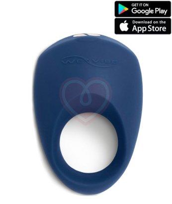 Эрекционное кольцо We-Vibe Pivot синее